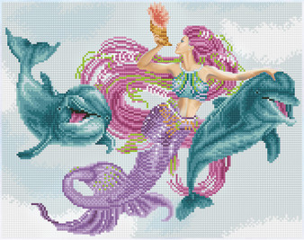Mermaid & Friends Diamond Painting Kit