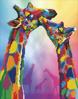 Giraffe Diamond Painting Kit