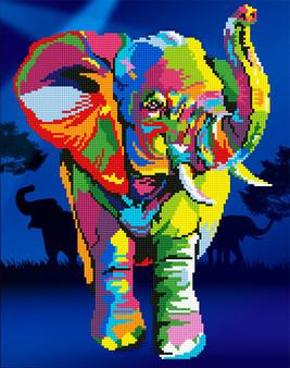 Elephants Diamond Painting Kit