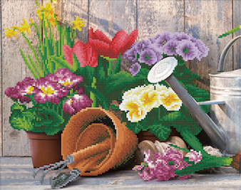 Gardening Diamond Painting Kit