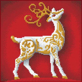 Reindeer Diamond Painting Kit