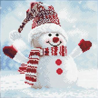 Snowman Diamond Painting Kit