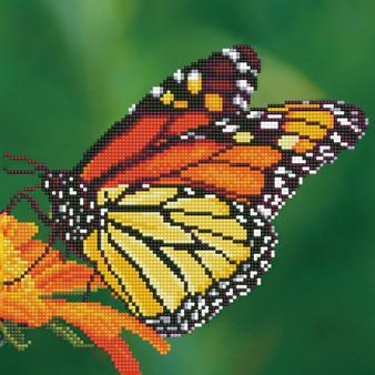 Monarch Diamond Painting Kit