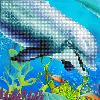 Dolphin Diamond Painting Kit