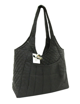 Maxi Craft Bag Quilted Black