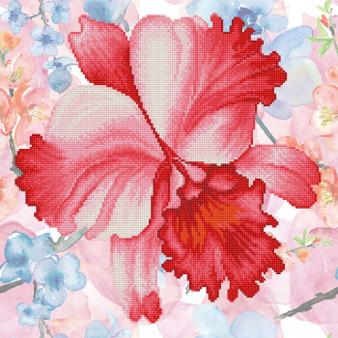 Sparkle Garden Crimson Diamond Painting Kit