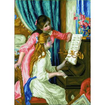 Girls At The Piano Diamond Painting Kit