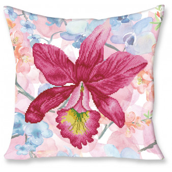 Sparkle Garden Pink Pillowcase Diamond Painting Kit