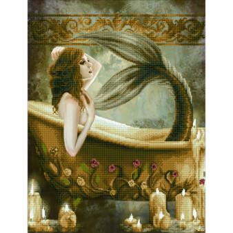 Bath Time Mermaid Diamond Painting Kit