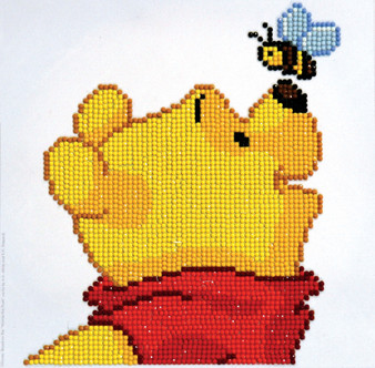 Pooh and Bee Diamond Painting Kit