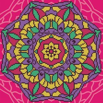 Mandala Diamond Painting Kit