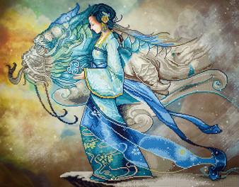 Dragon Princess Diamond Painting Kit