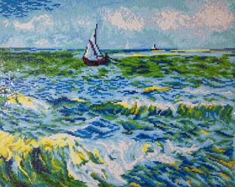 Seascape at Saint Maries (Van Gogh) Diamond Painting Kit