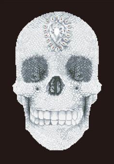 Crystal Skull Diamond Painting Kit