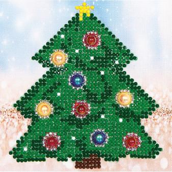 Christmas Tree Picture Diamond Painting Kit