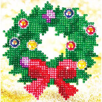 Christmas Wreath Diamond Painting Kit