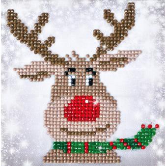 Christmas Reindeer Picture Diamond Painting Kit