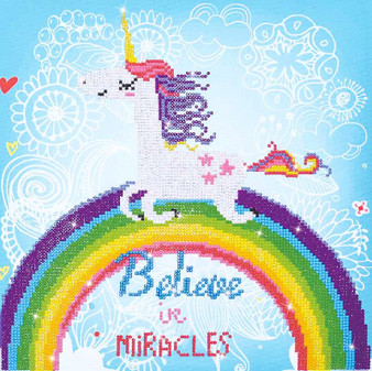 Believe In Miracles Diamond Painting Kit