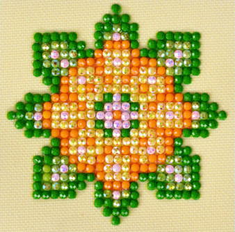 Flower Mandala 1 Diamond Painting Starter Kit