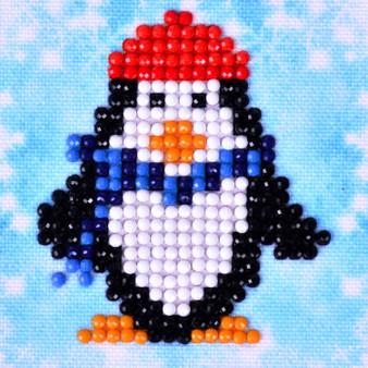 Penguin Waddle Diamond Painting Starter Kit