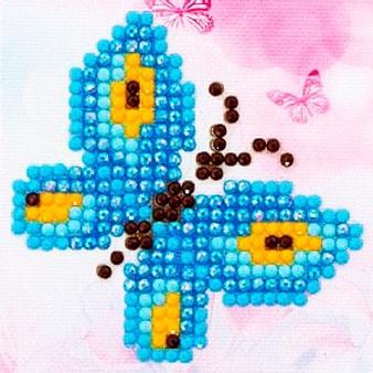 Butterfly Sparkle Diamond Painting Starter Kit