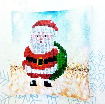 Decorative Christmas Santa Claus Mini Pillow Case