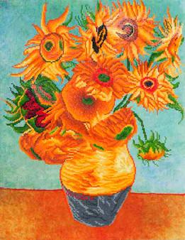 Sunflowers (Van Gogh) Diamond Painting Kit
