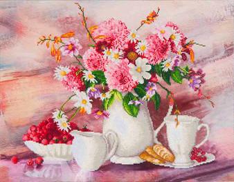 Romantic Tea Time Diamond Painting Kit