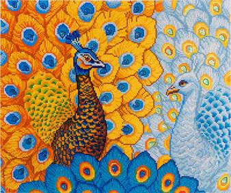 Romantic Peacocks Diamond Painting Kit