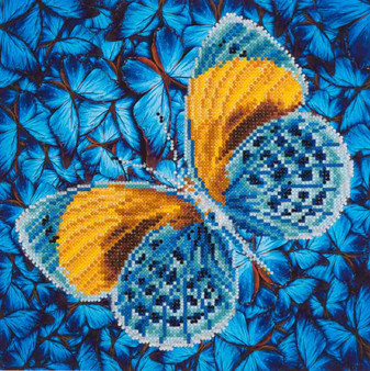 Flutter By Gold Diamond Painting Kit