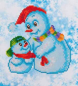 Snow Family Diamond Painting Kit