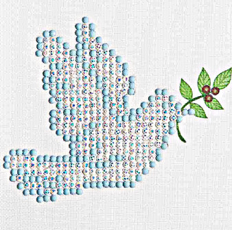 Dove Of Peace Diamond Painting Kit