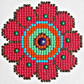 Flower Power Diamond Painting Kit
