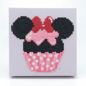 Cupcake Minnie Dotz Box Diamond Painting Kit