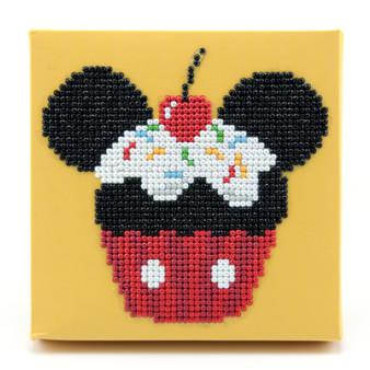 Cupcake Mickey Dotz Box Diamond Painting Kit