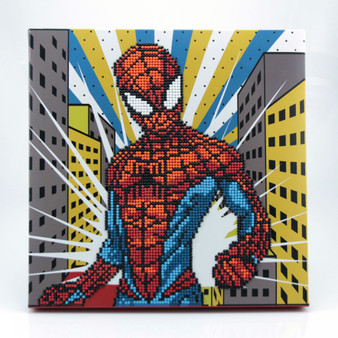Spiderman Dotz Box Diamond Painting Kit