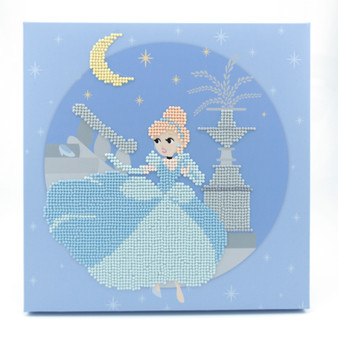 Cinderella Dotz Box Diamond Painting Kit