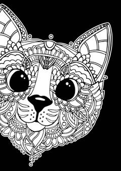 Cat Velvet Art Poster