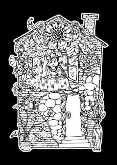House Velvet Art Poster