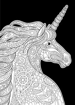 Unicorn Velvet Art Poster