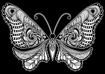 Butterfly Velvet Art Poster