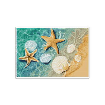 Crystal Shore Pre-Framed Diamond Dotz® Square Diamond Painting Kit