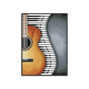Classical Jazz Pre-Framed Diamond Dotz® Square Diamond Painting Kit