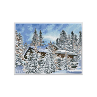 Alpine Retreat  Pre-Framed Diamond Dotz® Square Diamond Painting Kit