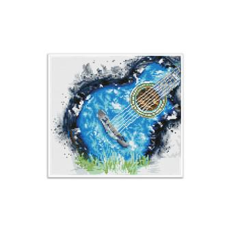 Blue Grass Pre-Framed Diamond Dotz® Square Diamond Painting Kit