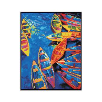 Blue Bay Pre-Framed Diamond Dotz® Square Diamond Painting Kit