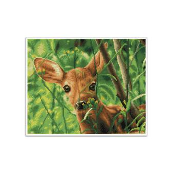 Forest Babe Pre-Framed Diamond Dotz® Square Diamond Painting Kit