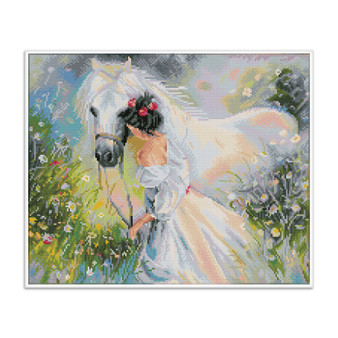 Field Of Dream Pre-Framed Diamond Dotz® Square Diamond Painting Kit