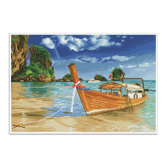 Thai Escape Pre-Framed Diamond Dotz® Square Diamond Painting Kit