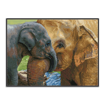 Baby's Comfort Pre-Framed Diamond Dotz® Square Diamond Painting Kit
